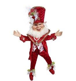 Mark Roberts Fairies Valentine's Big Hearted Elf SM 12 Inch