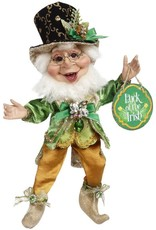 Mark Roberts Fairies Irish St Patrick's Elves Sneaky Leprechaun Elf SM 11 Inch