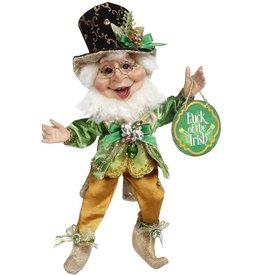 Mark Roberts Fairies Irish St Patrick's Elves Sneaky Leprechaun Elf SM 11 Inch