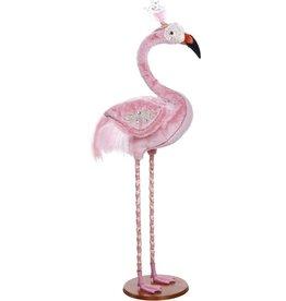 Mark Roberts Fairies Large Jeweled Flamingo 53.5 Inch