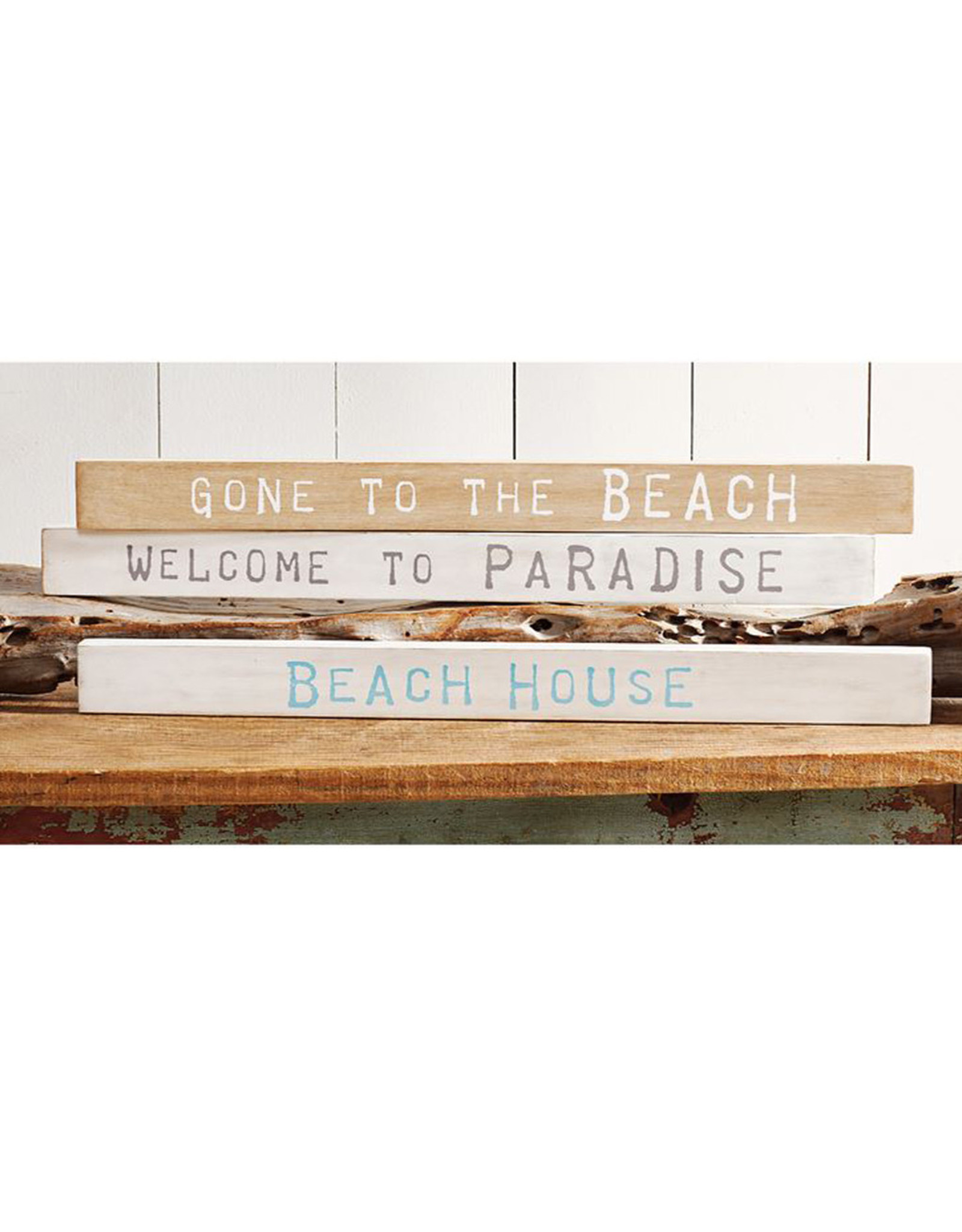 Mud Pie Beach House Sentiment Stick 24 Inch