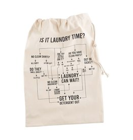 Mud Pie Instructional Laundry Storage Tote | Flow Chart