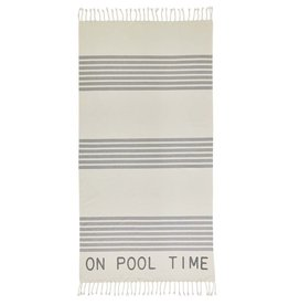Mud Pie Turkish Beach Pool Towels 70x36 | On Pool Time