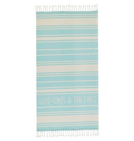 Mud Pie Turkish Beach Pool Towels 70x36 | Good Times & Tan Lines