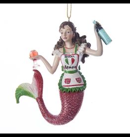 Kurt Adler Mermaid Ornament Italy - Italian International Mermaid