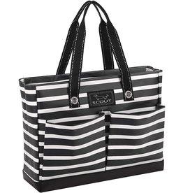 Scout Bags Uptown Girl Tote Bag Zip w Pockets Fleetwood Black