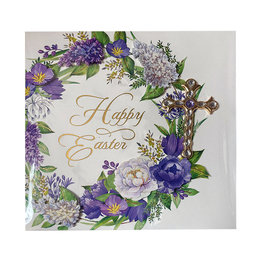 PAPYRUS® Easter Cards Easter Wreath With Cross Card