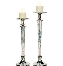 Mark Roberts Home Decor Pillar Pedestal Candle Holder 21H