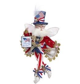 Mark Roberts Fairies Patriotic God Bless America Fairy SM 11 Inch