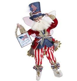 Mark Roberts Fairies Patriotic God Bless America Fairy MD 17 Inch
