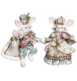 Mark Roberts Fairies Easter Bunnies Mr Mrs Royal Court Bunny 13 Inch