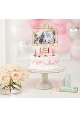 Mud Pie Birthday Cake Topper Birthday Frame Photo Holder