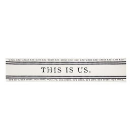 Mud Pie This Is Us Table Runner 90 Inches
