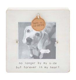 Mud Pie Deceased Pet Frame ID Tag Hook Forever In My Heart