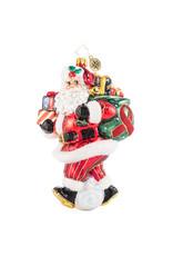 Christopher Radko AIDS Charity Claus 6.5 Inch Santa Ornament