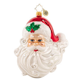 Christopher Radko Jolly With A Dash Of Holly Ornament