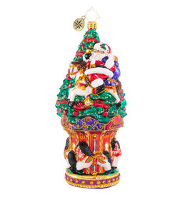 Christopher Radko Christmastime At The Carousel Ornament