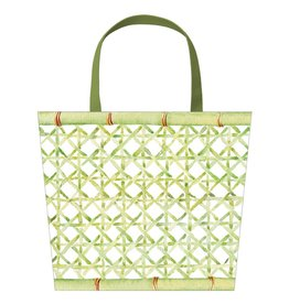 Caspari Trellis Cachepot Small Gift Bag for Potted Plant