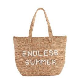 Mud Pie Jute Cooler Tote - Endless Summer