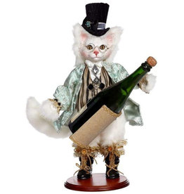 Mark Roberts Fairies Cat Wine Bottle Holder