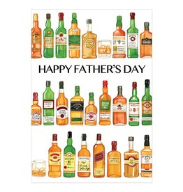 Caspari Fathers Day Cards Whiskey Father's Day Card
