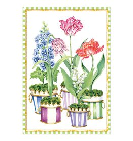 Caspari Mothers Day Cards Flower Pots Mother's Day Card