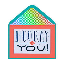 PAPYRUS® Congratulations Card Hooray For You