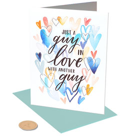 PAPYRUS® Anniversary Card Gay - In Love Guys
