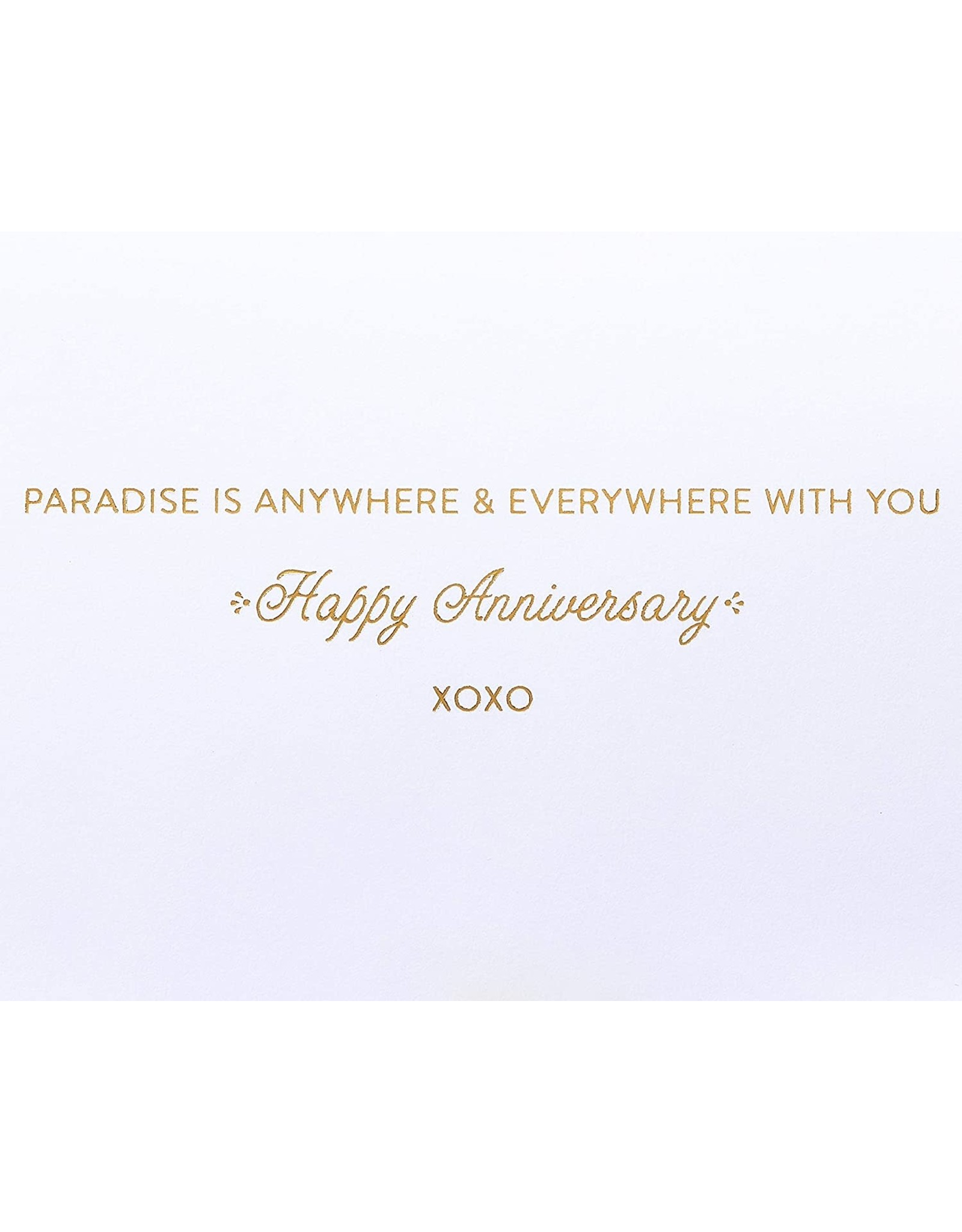 PAPYRUS® Anniversary Card Cabana Paradise Is Anywhere With You