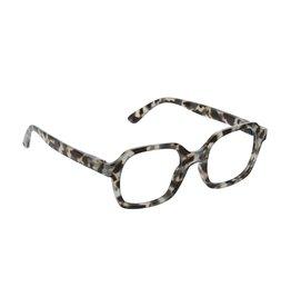 Reading Glasses Jet Set Blue Light Gray-Tortoise +1.25