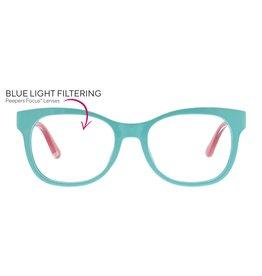 Reading Glasses Light Bright Blue Light Aqua-Blue +1.75