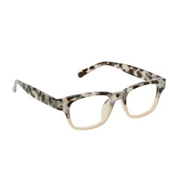 Reading Glasses Layover Blue Light Gray Tortoise-Pink +2.50