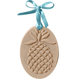 Digs Pineapple Sand Christmas Ornament