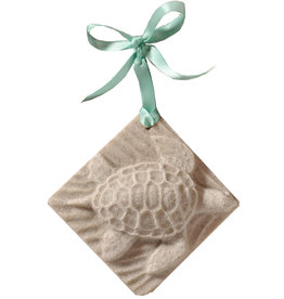 Digs Sea Turtle Sand Christmas Ornament