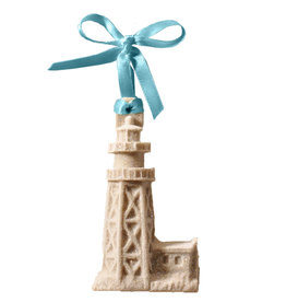 Digs Sanibel Lighthouse Sand Christmas Ornament