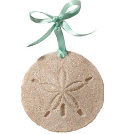 Digs Sand Dollar Sand Christmas Ornament