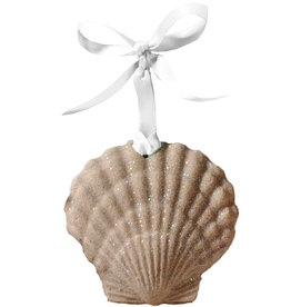 Digs Scallop Sand Christmas Ornament