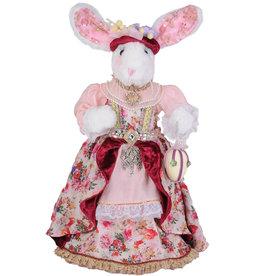 Karen Didion Royal Elegance Girl Bunny Easter Spring Collectible