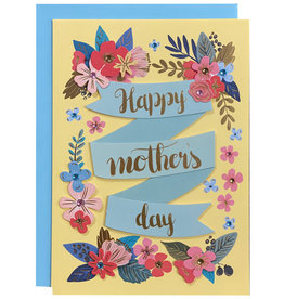 PAPYRUS® Mothers Day Card Flowers And Banners