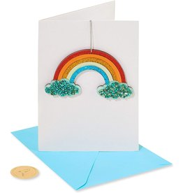 PAPYRUS® Birthday Card With Acrylic Rainbow to Hang