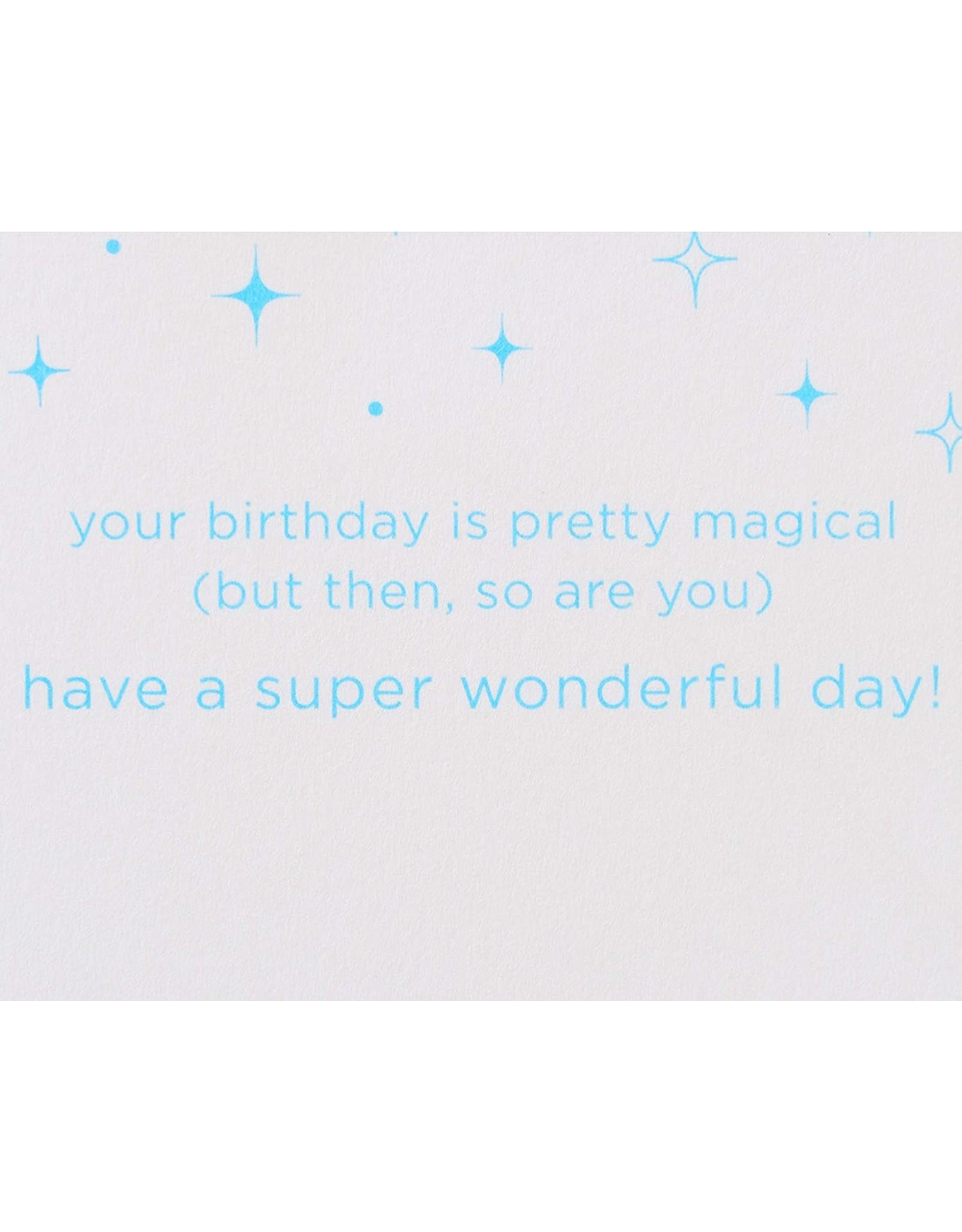 PAPYRUS® Birthday Card With Acrylic Rainbow to Hang