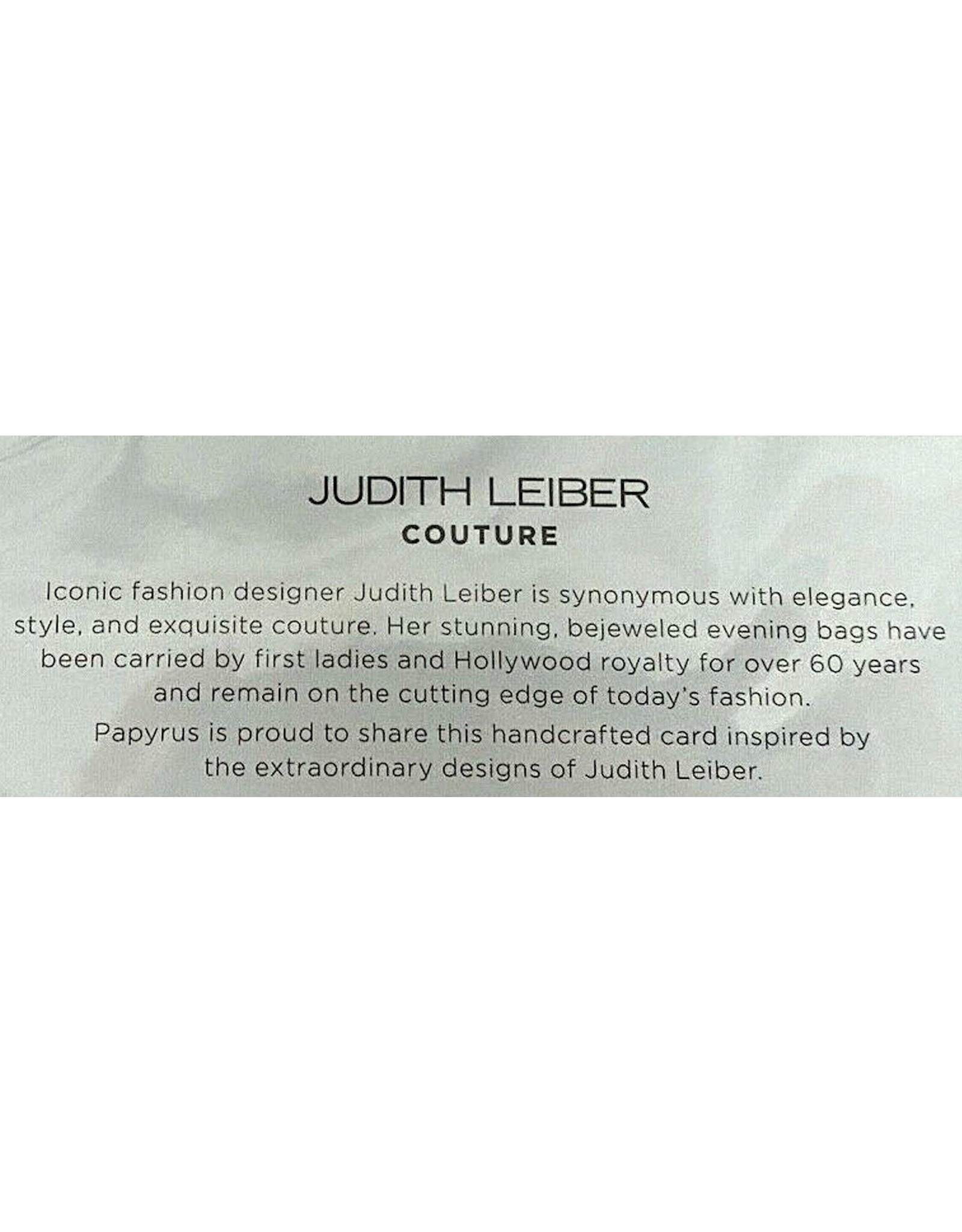 PAPYRUS® Birthday Card Gem Rainbow Unicorn by Judith Leiber