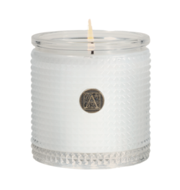 Aromatique The Smell of Spring Textured Glass Candle 6oz