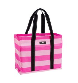 Scout Bags Playa Pink Roadtripper Breathable Open Top Tote Bag