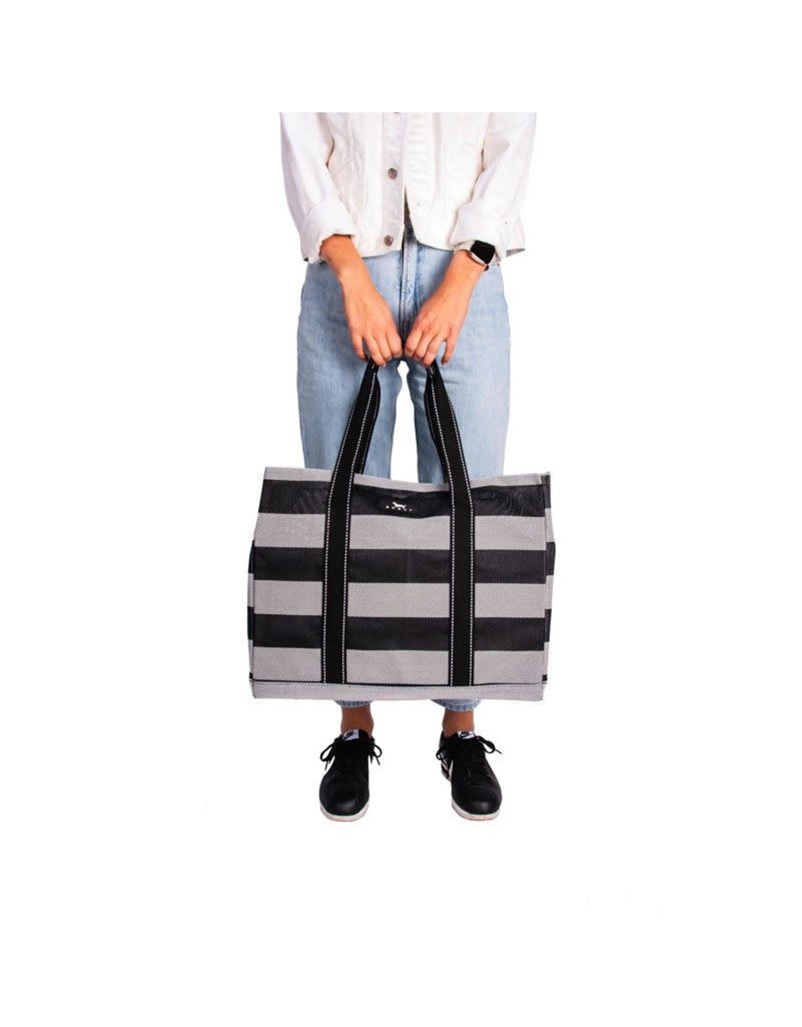 Scout Bags Baja Black Roadtripper Breathable Open Top Tote Bag