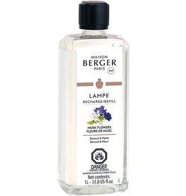 Lampe Berger Musk Flowers Lamp Fragrance 1 Liter Maison Berger