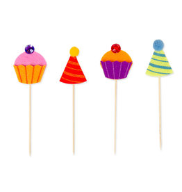 Papyrus Party Picks 12pk Cupcakes And Party Hats