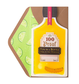 PAPYRUS® Birthday Card Fun Hang Over Tequila Bottle