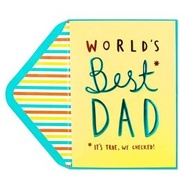PAPYRUS® Fathers Day Card Worlds Best Dad