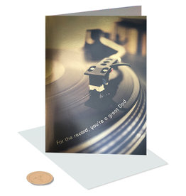PAPYRUS® Fathers Day Card For The Record